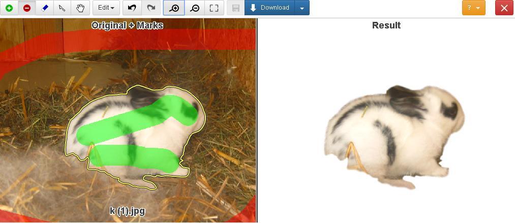 Inteligentny Darmowe narzędzia komputerowe: Usuwanie tła ze zdjęcia - edytor OT09