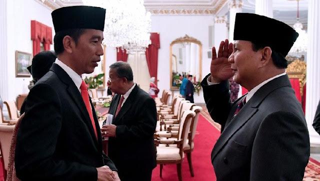 Survei Poltracking: Jokowi Menang Telak Jika Head to Head Prabowo di Pilpres 2019
