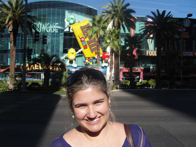 Loja M&M's World, Las Vegas.