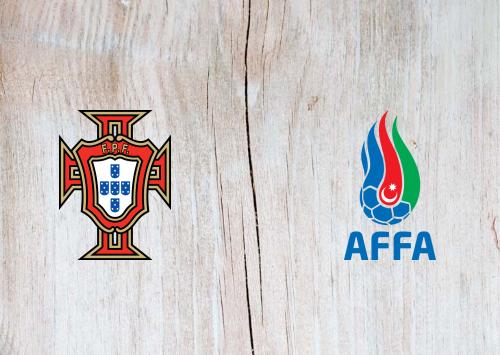Portugal vs Azerbaijan -Highlights 24 March 2021