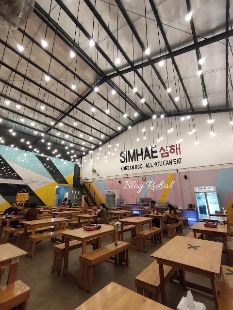 All You Can Eat di Simhae Medan