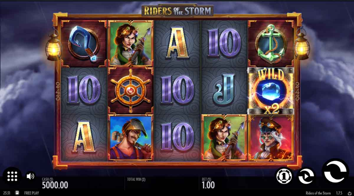 Riders of the Storm - Demo Slot Online Thunderkick Indonesia