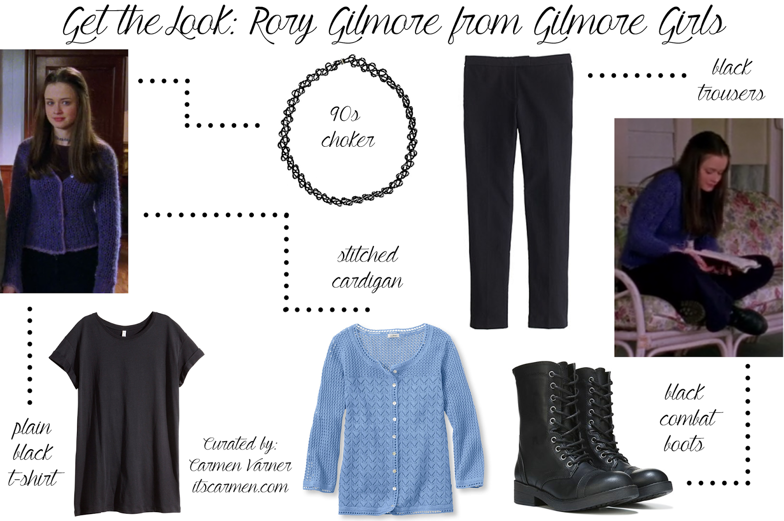 rory gilmore outfit