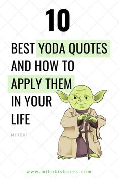 60 Inspirational Yoda Quotes Star Wars Quotes 2019 Topibestlist