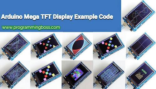 Arduino Mega TFT LCD 480x320 Color Display shield