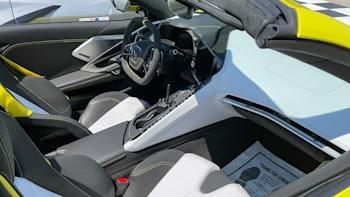 2022 Corvette Interior