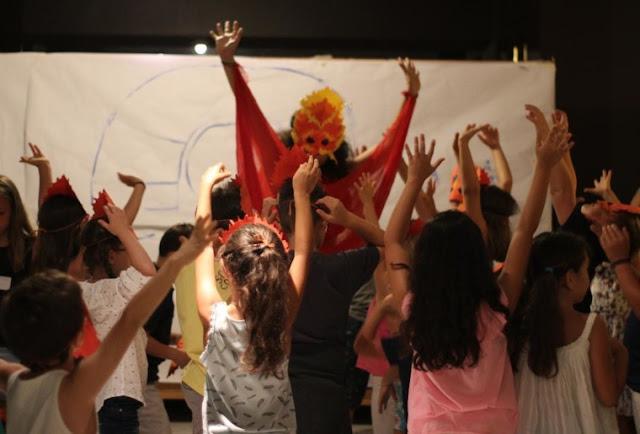 Ξεκινάει η δημιουργική απασχόληση παιδιών κατά τη διάρκεια των παραστάσεων στο Αρχαίο Θέατρο της Επιδαύρου