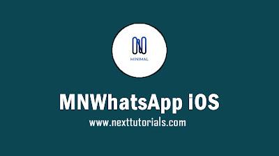 MNWhatsApp iOS v8 (MNWA) Apk Latest Version Android, Install Aplikasi MNWA iOS Anti-Expired Terbaik 2021, tema mn whatsapp keren, download wa mod anti blokir