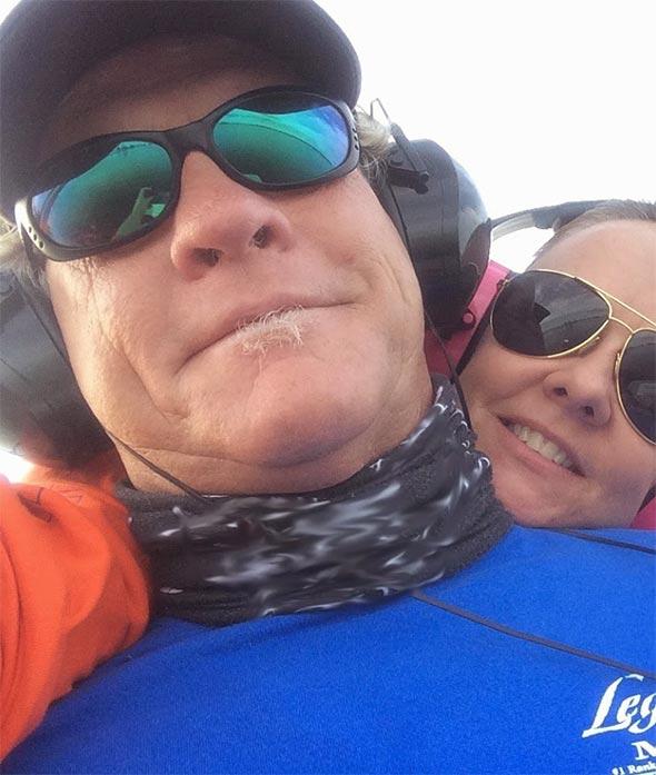Capt Blair Wiggins and Wife Cari