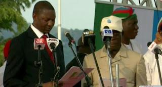 Adams Oshiomhole Sworn In As APC National Chairman