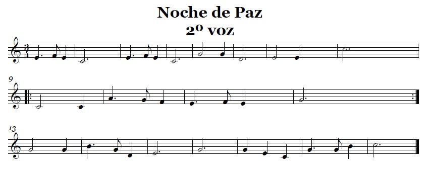 La Música En Secundaria: Partituras Para Flauta Dulce