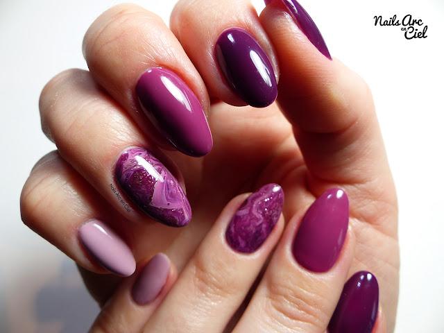 Nail Art - Marbré 100% vernis semi-permanent facile !