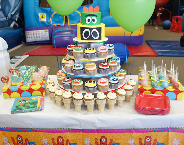 Yo Gabba Gabba Dessert Table