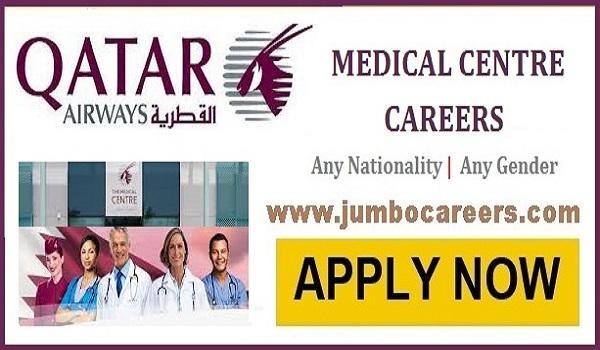 qatar airways jobs 2021, nurse jobs qatar airways 2021