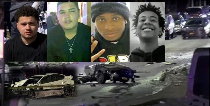 Estudiantes dominicanos y compañeros mueren en brutal choque de carros cuando narco se estrelló contra vehículo que abordaban