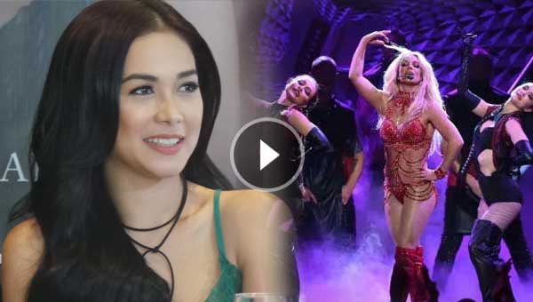 Maja Salvador has an amazing reaction to Britney Spears' Manila Concert