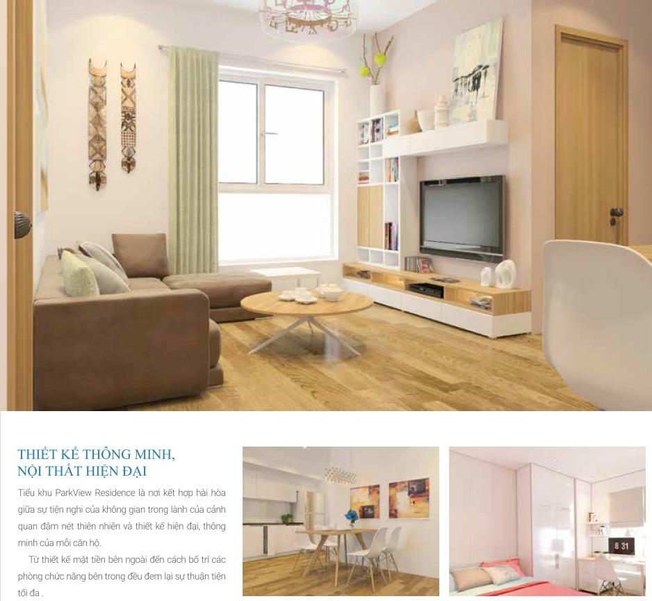 Thiết kế nội thất căn hộ thông minh