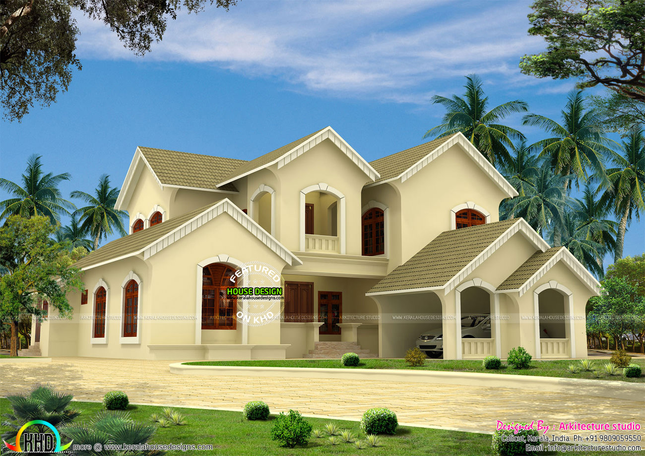 victorian style house in kerala kerala home design and