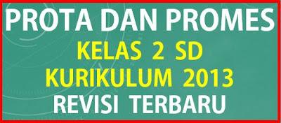 Prota dan Promes Kelas 2 SD Kurikulum 2013 Revisi Terbaru