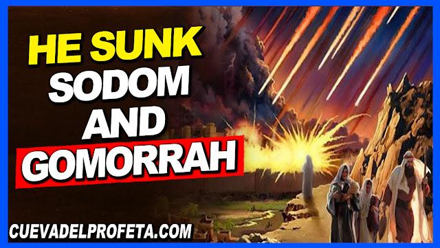 He sunk Sodom and Gomorrah - William Marrion Branham