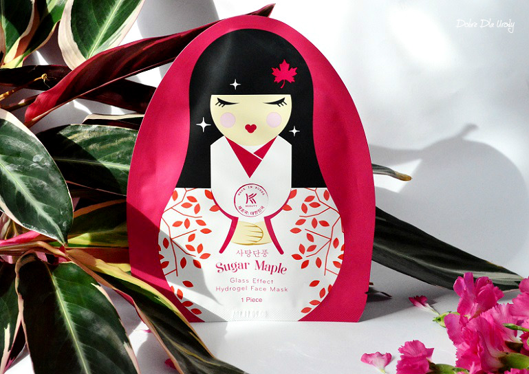 Hydrogel Face Mask Avon K-Beauty Sugar Maple Maska hydrożelowa do twarzy recenzja