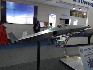 Ilustrasi Advanced Medium Combat Aircraft (AMCA)
