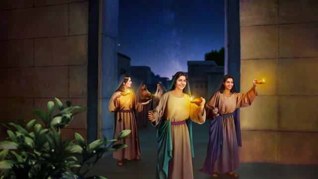 聰明童女, 尋找, 神的聲音