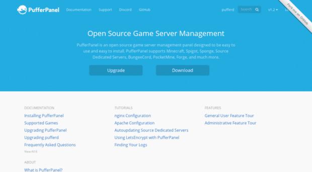 Pufferpanel créer votre sereur gaming linux ubuntu | control panel & gestion
