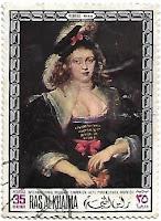 Selo Retrato de Helena Fourment