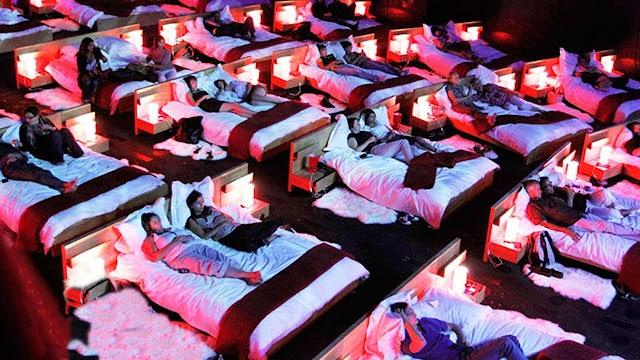 Bedroom cinema