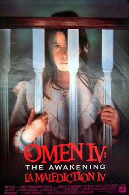 Theatrical one-sheet for OMEN IV: THE AWAKENING!
