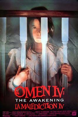 Theatrical one-sheet for OMEN IV: THE AWAKENING!