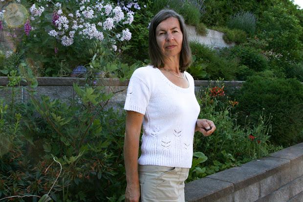 Bluzka na drutach Light Lady czyli Biała dama.