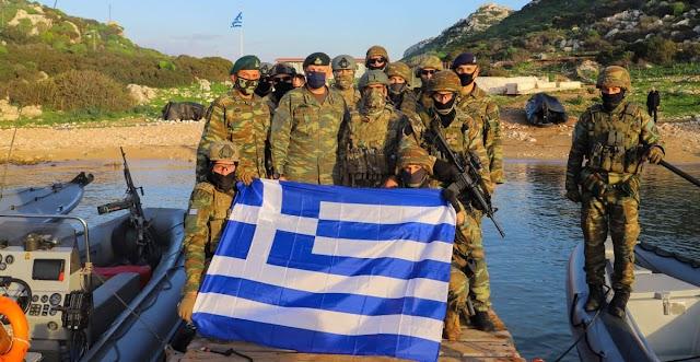 Η περιοδεία Α/ΓΕΕΘΑ σε Αιγαίο-Κρήτη-Καστελλόριζο και οι «εξαφανισμένοι» Τούρκοι