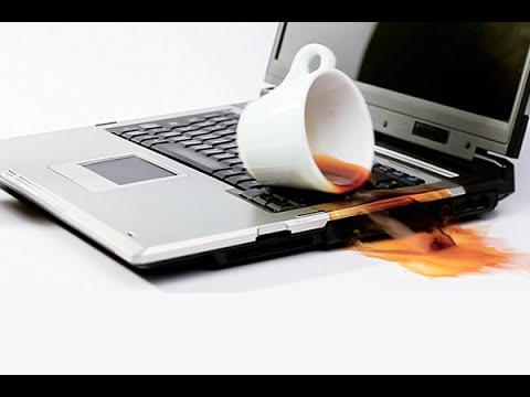 كيف تحمي حاسوبك المحمول عند سقوط عليه احدى السوائل والخطوات التي تتبع