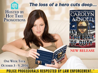 Blog Tour: In The Line Of Duty @Carolyn_Arnold