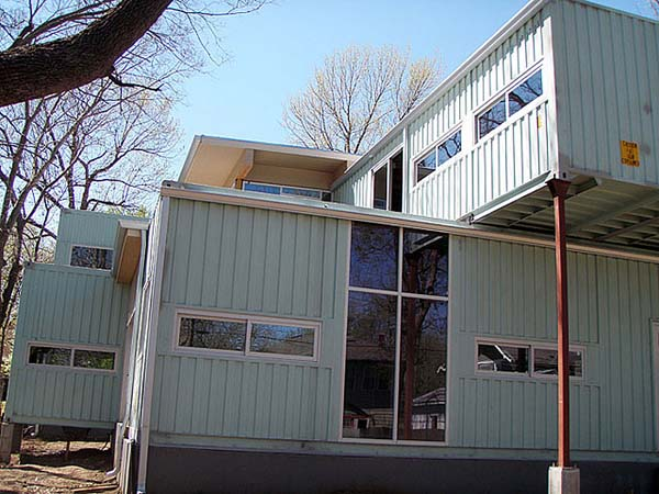 2000 sq ft Shipping Container House, Kansas City, Missouri 24
