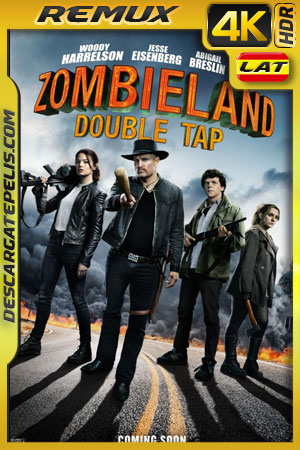 Zombieland: Tiro de gracia (2019) 4k BDRemux HDR Latino – Ingles