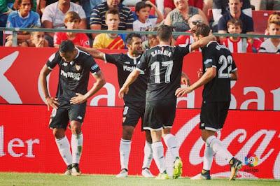 Crónica Girona CF 0 - Sevilla FC 1