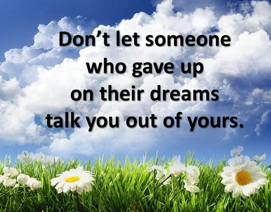 dream big inspirational quotes