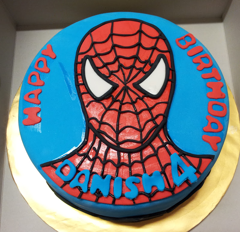 spiderman template for cake - spiderman face cake template