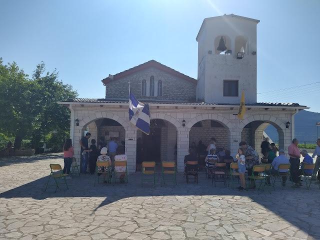 Θεσπρωτία: Εορτάστηκε η μνήμη της αγίας Μαρίνας στη Βρυσσέλα Φιλιατών και σε άλλα χωριά της Θεσπρωτίας (ΦΩΤΟ)