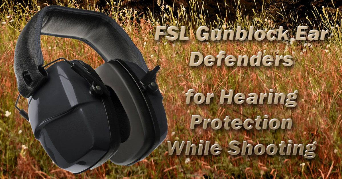 3c842aa0934 Royalegacy Reviews and More   FSLGunblockEarDefenders - Hearing ...