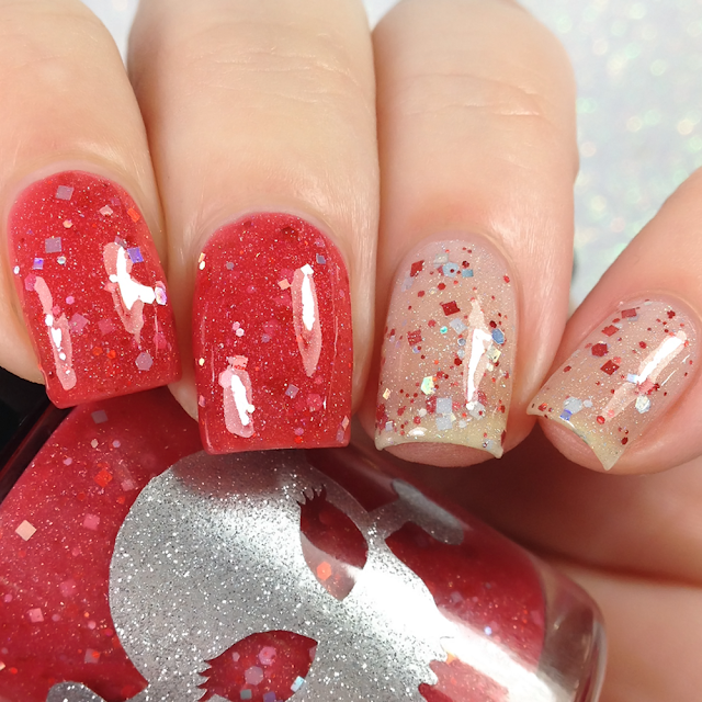 Necessary Evil Polish-Peppermint Kisses