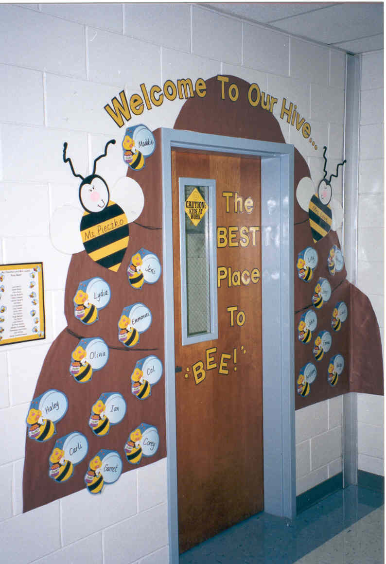 School decoration ideas porentreospingosdechuva for Classroom wall mural ideas