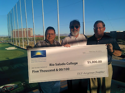 IICF AZ members present check for $7,000 to Rio Salado College