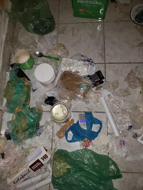 Mais de 130 quilos de maconha são apreendidos em residência desabitada em Dracena