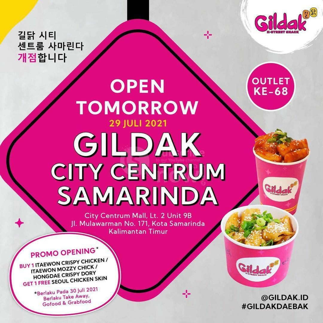 GILDAK City Centrum Samarinda Opening Promo Beli Gratis 1