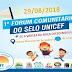 O município de Várzea da Roça  irá realizar o 1º Fórum Comunitário do Selo Unicef