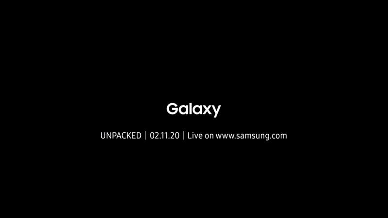 Samsung Galaxy series at the next Samsung UNPACKED event